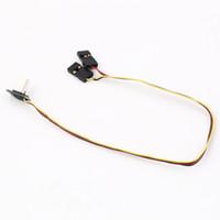 av power cord - 90 Degree USB to Video AV Output FPV Cable Power Lead Cord For GoPro HERO