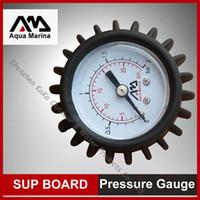aqua boats - AQUA MARINA pressure gauge B0302217 test air pressure inflation of SUP stand up paddle board inflatable boat fishing boat kayak