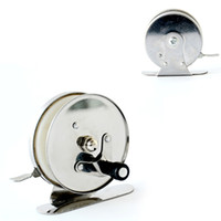 Wholesale pc ice fishing reel Stainless steel to countries