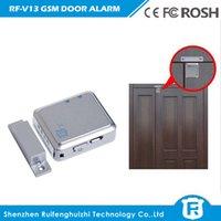 active alarms - Door lock SIM RF V11 mini Independent GPS tracker Door Magnetic Vibration Alarm Active Listening Vibration Alarm RF V13