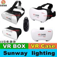 Wholesale 2016 Head Mount Plastic VR BOX Version VR Virtual Reality Glasses Rift Google Cardboard D Movie for quot quot Smart Phone