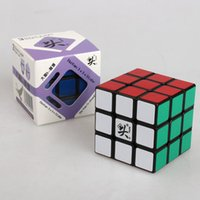 Wholesale Dayan Magic Cube mm Speed Cubo speed kub magico Puzzles learning education toy Game cube toys