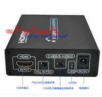 av switcher box - 20 sets P HDMI to AV CVBS S video s Video Converter Adapter Switch Switcher Box Support PAL NTSC