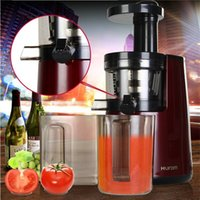 Wholesale Freeshipping New juicer machine hurom slow Juicer machine HU WN Fruits Vegetable Low Speed Juice extractor