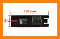 Wholesale CAR CCD REAR VIEW REVERSE BACKUP HIGH QUALITY SONY CHIP CAMERA FOR OPEL Astra H Corsa D Meriva A Vectra C Zafira B M38922
