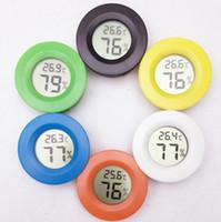 Wholesale Mini digital LCD temperature instruments measuring temperature gauge Humidity Meter