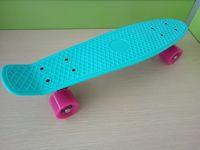 banana board wheels - 22 inch fish skate board pastel color banana board mini cruiser long skateboard four wheel street longboard
