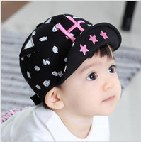 ball transportation - South Korea fashion The new spring and summer Embroidery letters HC children baseball cap The baby cap Baby hats Free transportation