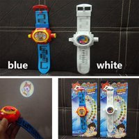 Wholesale New Poke Go Pocket Monster Ditigal Watch With Projection Children Kids Sport Watch Not Waterproof Color Card Package As Gifts WX W01