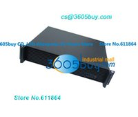 Wholesale 2U Aluminum panel Chassis Firewall Chassis ROS Route chassis server