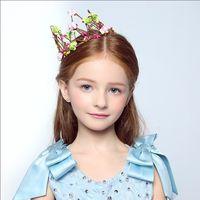 Wholesale 2016 Wedding Bridal Girl Head Flower Crown Wreath Aesthetic Colors of the Crown Rattan Garland Headband Hair Accessories