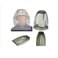 Wholesale Midge Mosquito Insect Hat Bug Mesh Head Net Face Protector Travel Camping Top Quality