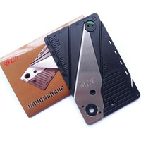 Wholesale 2000 BLF CS3 Credit Card Size Pocket Wallet Folding Safety Knife Top Quality