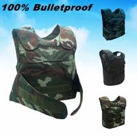 armored jacket - Tactical vest Military jacket Woodland Camouflage Hunting safety vest Clothing tactical uniform armored Security Protection