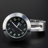 Wholesale Attractive Fashion Popular Motorcycle Accessory Handlebar Mount Chromium Plating Waterproof Clock Watch