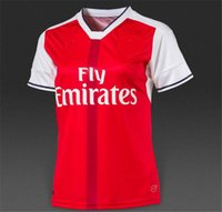 ladies white suits - Thai quality Gunners Arsenalers shirts Home ladies togs OZIL ALEXIS WELBECK woman soccer jerseys FC Holloway football shirt suit