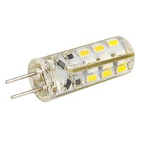 Wholesale 24 LED SMD Dimmable W DC V LM Bright G4 LED Lights Bulb Lamps Warm White FG15361