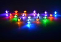Wholesale Noctilucent pentagram glow earring popular LED flash earrings Temperament earrings for men and women lovers gift