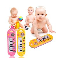 Wholesale Colorful Mini Baby Infant Toy Piano Toddler Early Educational Developmental Baby Kids Musical Toy Piano K5BO
