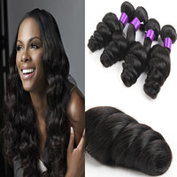 Wholesale TOP Quality Malaysian Hair Bundles Malaysian Loose Wave Hair Bundles Tissage Malaysian Loose Wave Human Hair Extensions