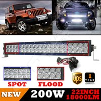 Wholesale USA Inch CREE LED Light Bar Curved W Work Driving Lamp Combo FLOOD SPOT Offroad X4 WD