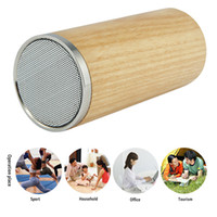 bamboo system - GLAUPSUS G188 Wooden Bluetooth Speaker Portable Wireless Speaker Sound System D Stereo Music Surround Subwoofer Bamboo Wood Speaker