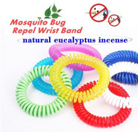 Wholesale 1000pcs Anti Mosquito Repellent Bracelet Anti Mosquito Bug Pest Repel Wrist Band Bracelet Insect Repellent Mozzie Keep Bugs Away TPA008