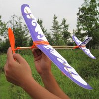airplane model making - kids plane toy rubber band airplane model building kit practice children hand make