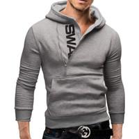 big active design - New Hot Men Big Size Hoodies Autumn Long Sleeve Hooded Zipper Design Fashion Pullovers Mens Active Sudaderas Mujer Coat