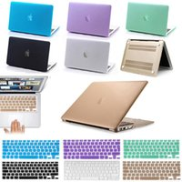 Wholesale Rubberized Hard Case Shell Keyboard Cover for Macbook Pro Retina Air inch
