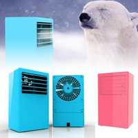 Wholesale Portable PinkTable Air Conditioner Air Conditioning Fan Touch Control Speed