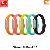 Wholesale Original Xiaomi Mi Band Smart Miband Bracelet For Android IOS MI3 M4 Waterproof Tracker Fitness Wristbands Original Box