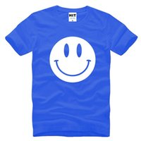 acid wash shirt - WISHCART Cute Acid Smiley Face Printed Mens Men T Shirt Tshirt New Short Sleeve O Neck Cotton Casual T shirt Tee Camisetas Hombre
