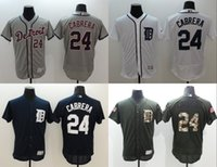 authentic tigers jersey - 2016 Flexbase Authentic Collection Men Detroit Tigers Miguel Cabrera baseball jerseys Stitched M XL