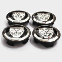 Wholesale 100pcs Send free EMS DHL New for Jaguar black XJ XF XK X TYPE for Jaguar Wheel Center Hub Caps for JAGUAR Modified Logo mm