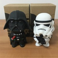 Wholesale Zorn toys Star Wars Dolls Q Edition Darth Vader Anakin Skywalker Imperial Stormtrooper Dark Knight White soldiers action figure