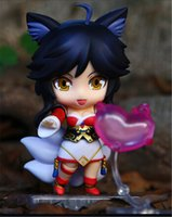 411 - New cm League of Legends Q version Ahri Action Figure Collection Toys For Gift of gzcj2016 shop
