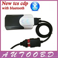 Cheap New Vci (2014 R2 Keygen CD )TCS CDP Pro with Bluetooth Diagnostic tool for Auto Cars Trucks OBD2 Scanner One Year Warranty