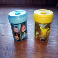 Cheap Pikachu Insulation Lunch Box Cartoon Poke Tsum Stainless Steel Portable Children Kids meal box 2 designs LJJO593