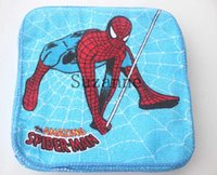 autumn napkins - 120pcs set Color napkins Cartoon printing towel Birthday party supplies Articles for daily use spider man