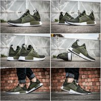 Wholesale Drop Shipping NMD Runner XR1 Olive Green Sneakers Boost Men Sports Running Shoes Men Shoe Size