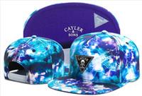Wholesale Cayler Sons snapback flashing lightning brooklyn anchor men women s skateboard adjustable basketball hats hiphop bboy flat caps