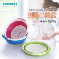 baby wash basin - A century baby newborn baby wash basin children footbath fruit bowl made of PP thick