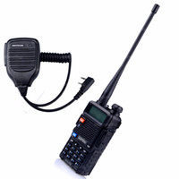 Wholesale Baofeng UV R Two way Radio Accessories Walkie Talkie VHF UHF Dual Band MHz FM Ham Speaker