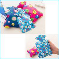 Wholesale Cute High Density PVC Hot Water Bottle Bag Hot Water Filling bag Water Warm Bags For Kids Women
