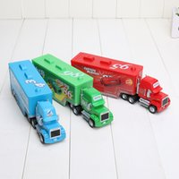 Car trucks - Cars Mack Chick hauler Thai Pixar Car Lightning Hick Truck Toy car Kid color