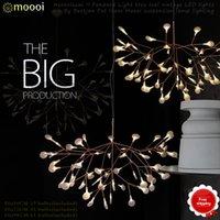 Wholesale Global free post moooi cc LED Heracleum II Pendant Light tree leaf vintage LED lights By Bertjan Pot from Moooi suspension lamp lighting98CM