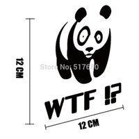 android word - Exterior Accessories Car Stickers Car your JDM DUB Panda WTF motorcycle car stickers reflective stickers stickers android