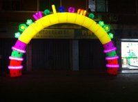 Wholesale The new luminous arches wedding D festive m Opening Arches