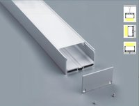 aluminum mounting channel - Cost M Aluminum Channel for LED strip installation Aluminum Profile with Cover End Caps Mounting Clips